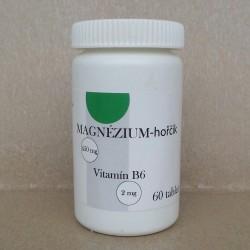 MAGNÉZIUM – Hořčík a vitamín B6