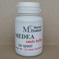 MEDEA tablety - směs pro lepší spánek 60 + 10 tablet zdarma