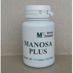 Manosa PLUS 90 + 10 tablet zdarma