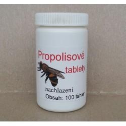 PROPOLISové tablety při nachlazení