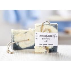 Mořská sůl - přírodní mýdlo Koukol