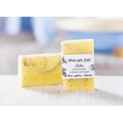 Růže - přírodní mýdlo Koukol